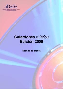 Galardones aDeSe Edición 2008