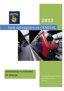Guía del registro en CENEVAL