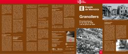 Itinerari bombardeig - Ajuntament de Granollers