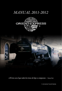 Manual Orient Express