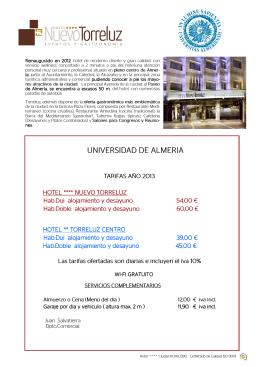 Torreluz - Universidad de Almería