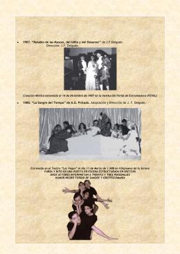 """1987. """"Retablo de las Moscas, del Idilio y del Desamor"""