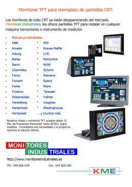 reemplazar - Monitores Industriales