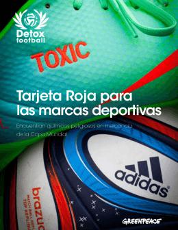 Tarjeta Roja para las marcas deportivas