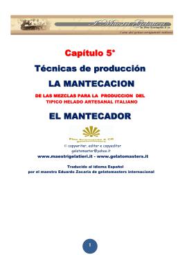 5° CAPITULO-EL MANTECADOR