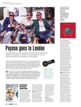 Payesa va a Londres
