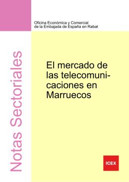 El mercado de las telecomunicaciones en Marruecos