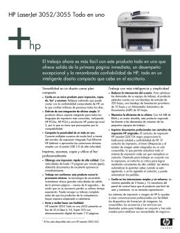 HP LaserJet 3052 y 3055