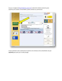 Accesar a la página de http://medicina.uasnet.mx/ y darle click al