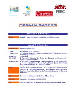 programa 2009 montpellier