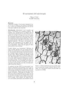 El nacimiento del microscopio