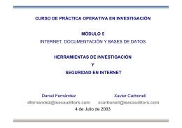 Introducción - Internet Security Auditors
