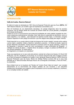 BTT Reserva Natural de Iruelas y Castañar del Tiemblo