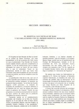 SECCION HISTORICA