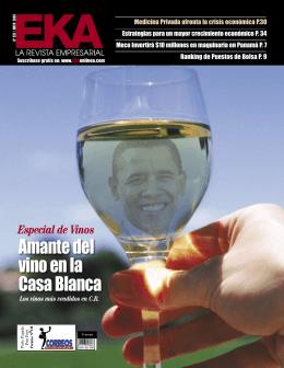 Amante del vino en la Casa Blanca