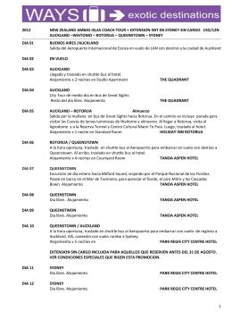 1 2012 new zealand ambas islas coach tour + extension 5nt en