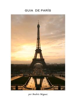 GUIA DE PARÍS - Asociación de Becarios de la Fundación Barrié
