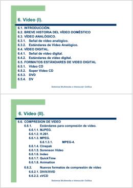 Video - Departamento de Informática y Sistemas