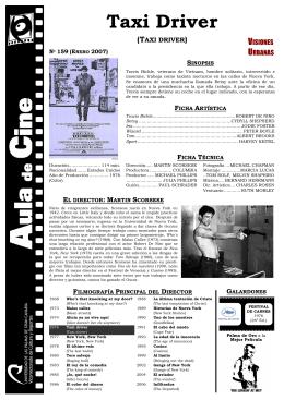 Taxi Driver - Aula de Cine de la ULPGC