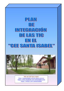 plan tic santa isabel - CEE Santa Isabel