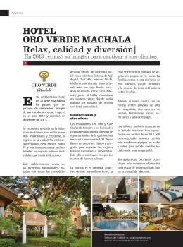 Hotel Oro Verde Machala (Actualidad)