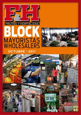 MAYORISTAS WHOLESALERS - Revista F&H · Frutas y Hortalizas