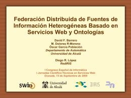 Federación Distribuida de Fuentes de Información