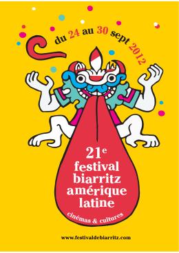 du 24 au 30 sept 2012 - Festival de Biarritz Amérique Latine