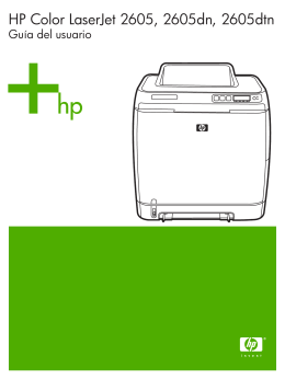HP LaserJet 2605, 2605dn, 2605dtn User Guide