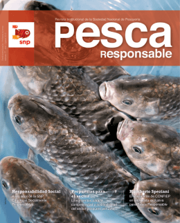 Pesca Responsable Nº 77 - Sociedad Nacional de Pesqueria