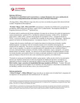 Programa de Lealtad Hotel and Características