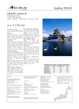 KP001 - Mundo samurai