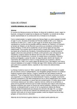 GUIA DE ATENAS