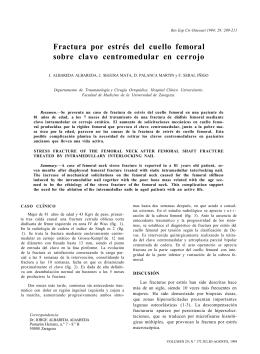330,36 KB Descargar Artículo - Revista Cirugía Osteoarticular