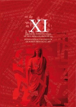 preactas del xi coloquio internacional de arte romano provincial