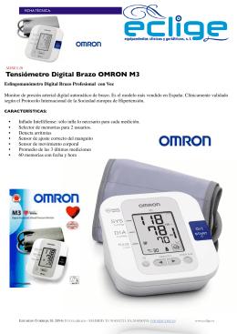 Tensiómetro Digital Brazo OMRON M3