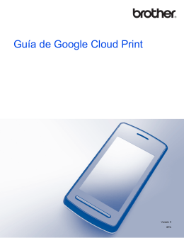 Guía de Google Cloud Print