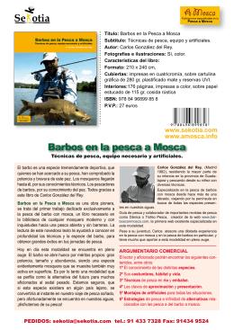 Ver ficha en PDF - Editorial Sekotia