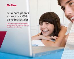 Guía para padres sobre sitios Web de redes sociales