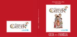 El Desarrollo de Niños y Niñas de 4 a 10 años GUIA PARA
