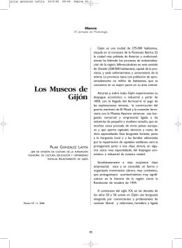Los Museos de Gijón - Asociación Profesional de Museólogos de