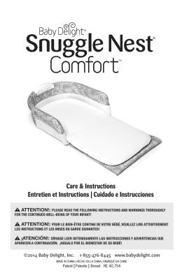 Care & Instructions Entretien et Instructions | Cuidado