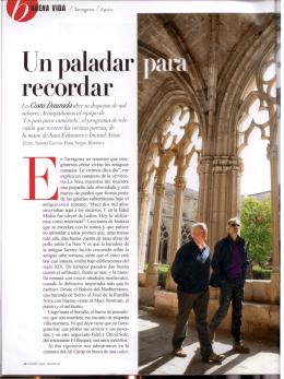 Un paladar recordar ENA VIDA / Tarragona