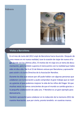 Febrero 2013 - ASSOCIACIO NENDIVE