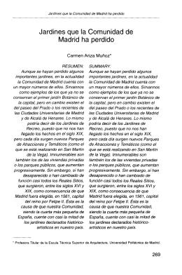 Jardines que la Comunidad de Madrid ha perdido - e