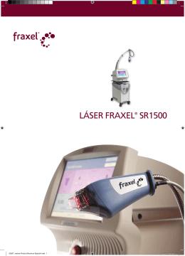 LÁSER FRAXEL® SR1500