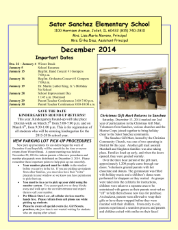 December 2014 - Joliet Public Schools District 86