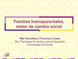 Mar Gonzalez Familias homoparentales Presentación