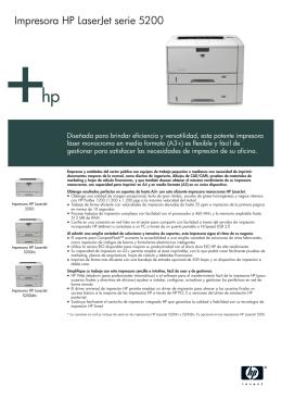 IPG Commercial Mono Laserjet A3 Datasheet