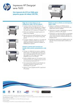 IPG Commercial Designjet Datasheet 2
